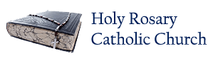 Holy Rosary Catholic Church – Buckhannon Logo
